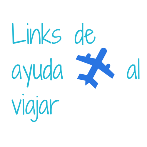 Links deayuda alviajar
